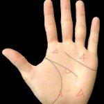手相の三角紋(トライアングル)の基本を解説